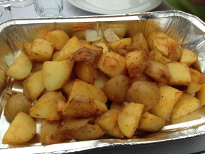 potato wedges op de bbq 2