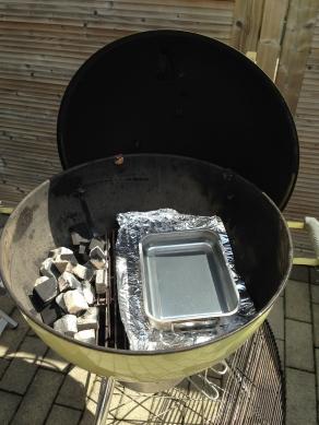 Maak de BBQ klaar voor indirect grillen