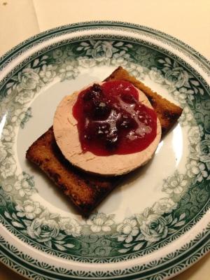 Foie gras op de BBQ