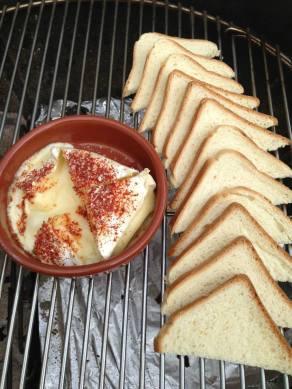 Kaas en Toast, heerlijk.