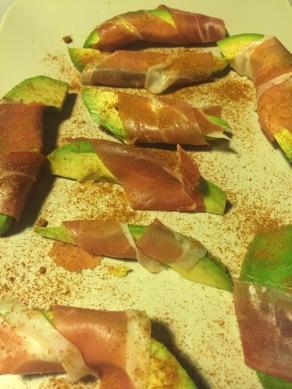 GHENTlemens BBQ avocado met rauwe ham90
