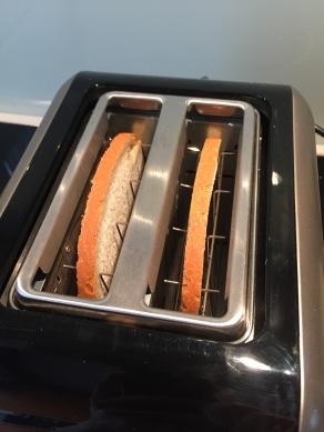 Toast het brood