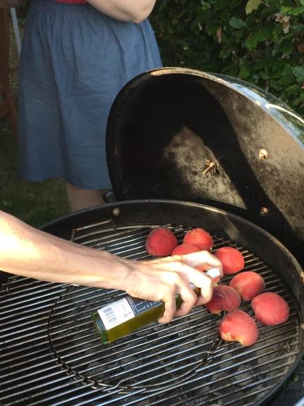 GHENTlemens BBQ peche melba