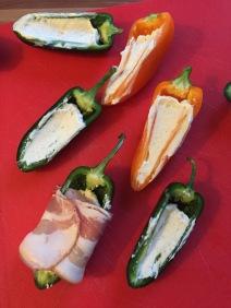 Wikke het spek rond de peper of paprika