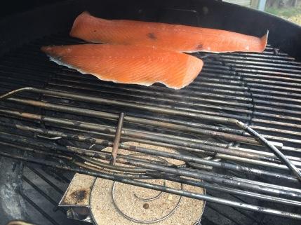 GHENTlemens BBQ Koud Gerookte Zalm op de BBQ