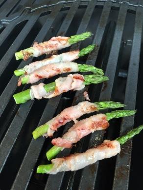 GHENTlemens BBQ Groene asperges met spek