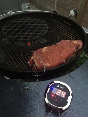 GHENTlemens BBQ Steak op de BBQ Reverse Sear