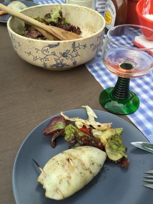 GHENTlemens BBQ Gevulde inktvis met ansjovis