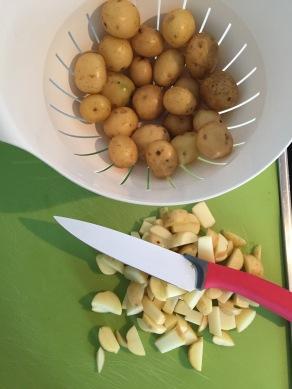 GHENTlemens BBQ aardappelpakketjes