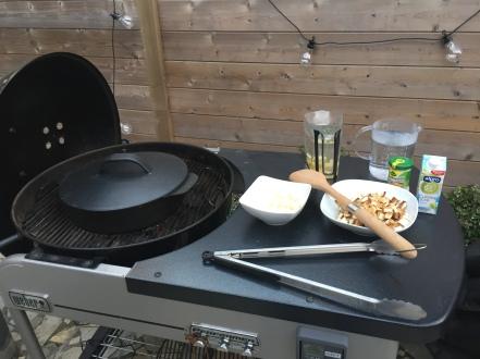 GHENTlemens BBQ gerookte knolseldersoep a la weber academy