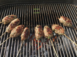 GHENTlemens BBQ Mini kebab op de BBQ