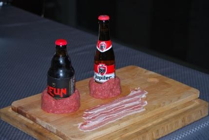 GHENTlemens BBQ Beercan Burgers