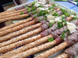 GHENTlemens BBQ Carpaccio sticks op de bbq a la Pascale Naessens