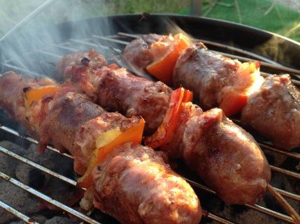 GHENTlemens BBQ Italiaanse Salsiccia met pancette en rozemarijn