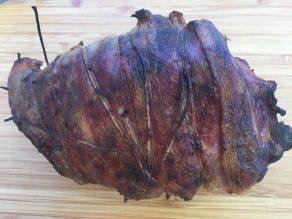 GHENTlemens BBQ Licht gerookt rundsfilet met spek en rozemarijn20