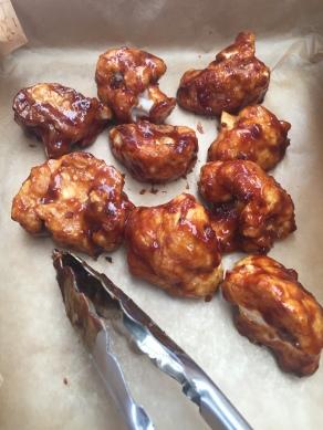 GHENTlemens BBQ veggie chicken wings bloemkool64