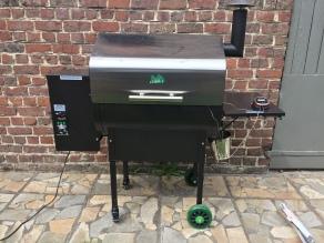 GHENTlemens BBQ low & slow rib roast green mountain pellet bbq38