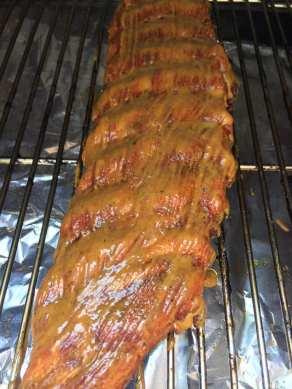 GHENTlemens BBQ carolina mustard ribs 2